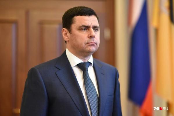 Дмитрий Миронов работал на посту главы региона с 2016 года