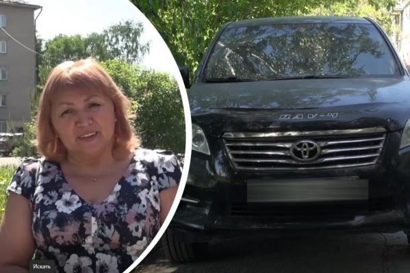 Женщина не надеялась, что автомобиль получится найти