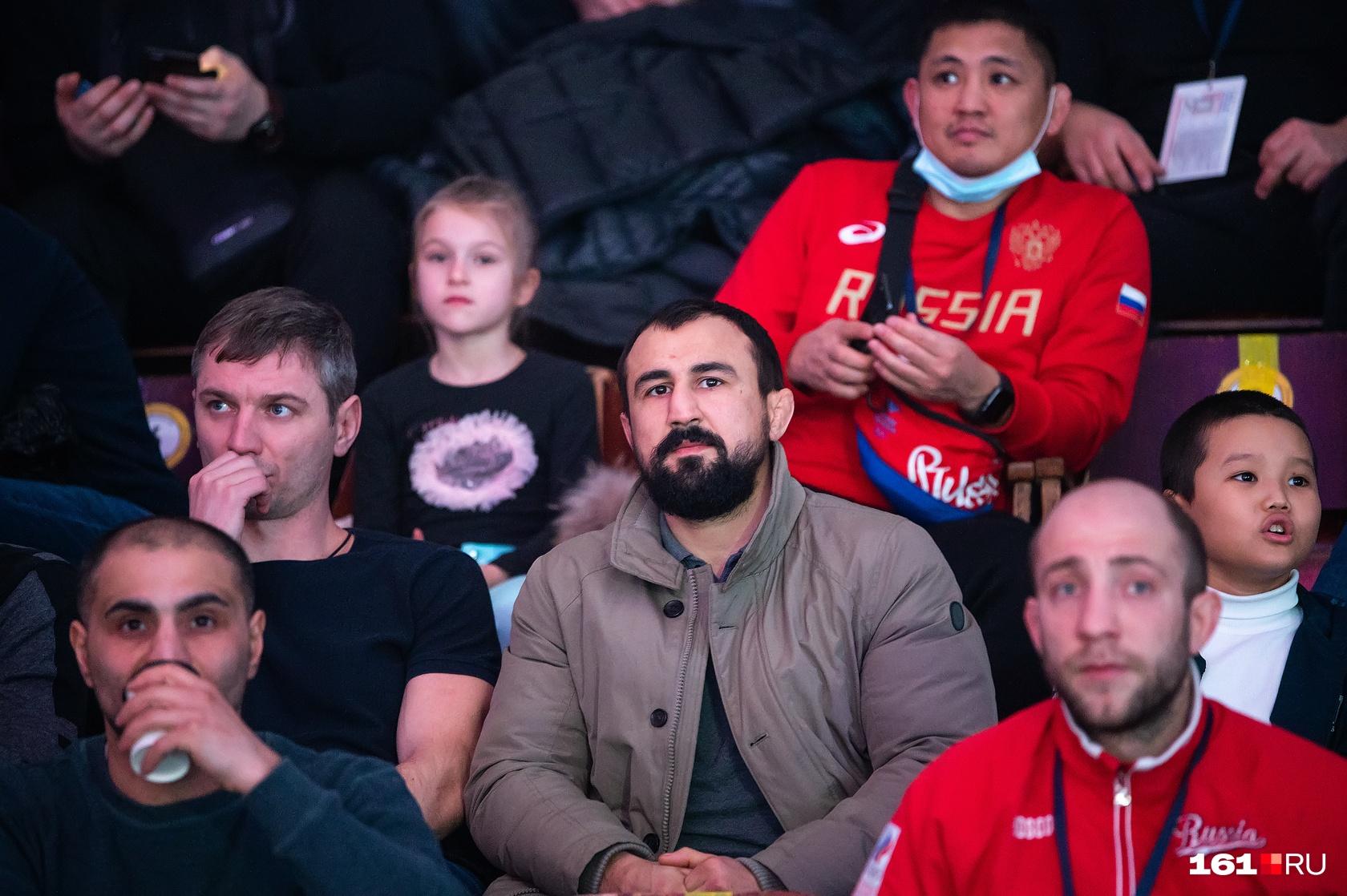 Трибуны во Дворце спорта были забиты до отказа