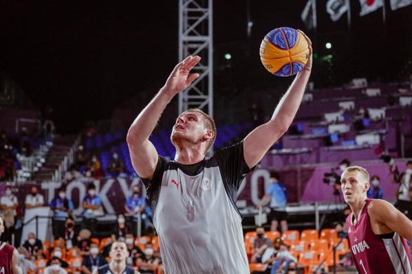 Илья Карпенков — один из лучших игроков мужского олимпийского турнира 3 x 3