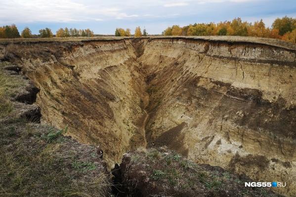 «Берег Драверта» — уникальное геологическое образование на правом берегу Иртыша
