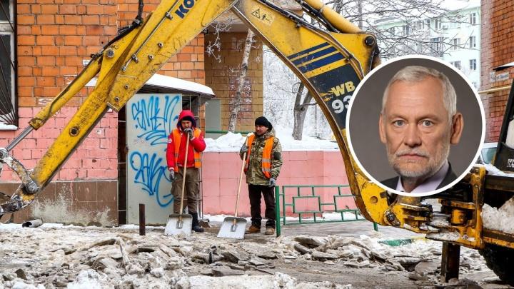 Бывший мэр Нижнего Новгорода Вадим Булавинов прокомментировал уборку снега в городе