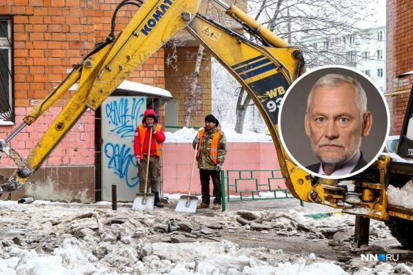 По поводу снежных заносов в Нижнем Новгороде за неделю высказались уже два бывших мэра