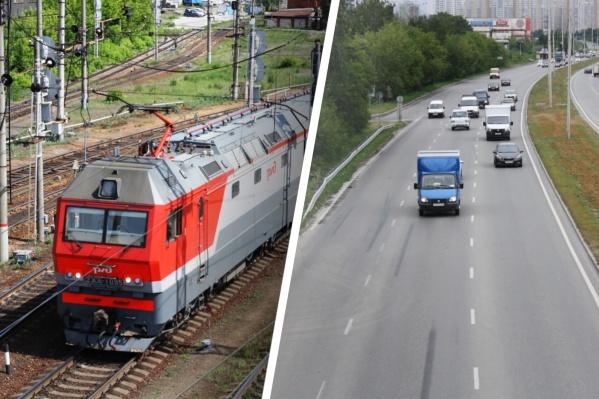 Для обустройства новой улицы придется построить два моста через железнодорожные пути