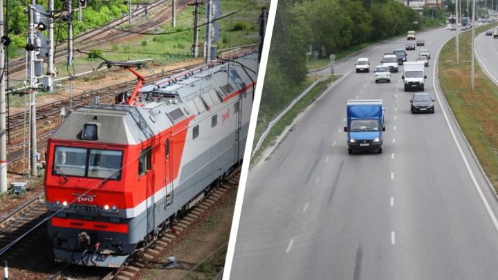 В Екатеринбурге построят новую улицу с двумя мостами над железной дорогой: схема