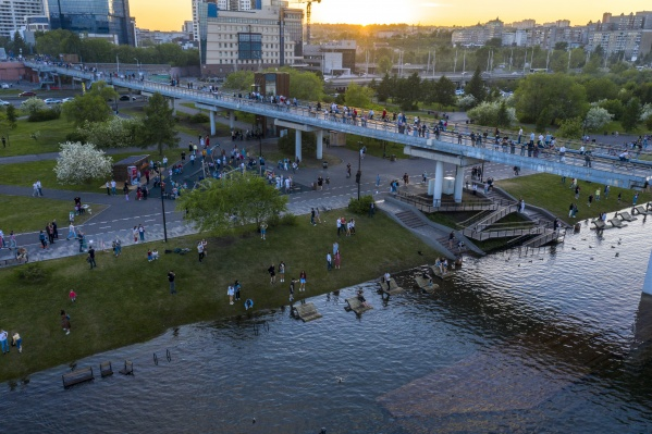 Набережные в Красноярске затопило по всем берегам