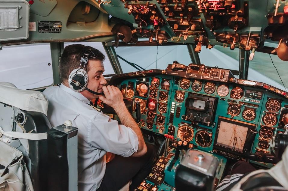 """За основу авиапроекта был взят фюзеляж настоящего самолета <nobr class=""""_"""">Ту-154</nobr>, который <nobr class=""""_"""">36 лет</nobr> перевозил пассажиров"""