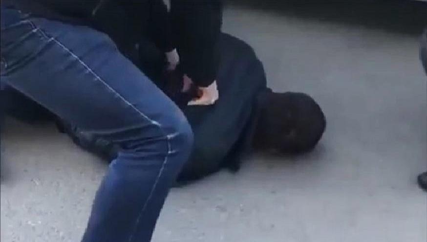 Появилось видео задержания бывшего милиционера, которого поймали спятью килограммами героина