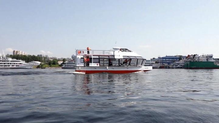 В Самаре на речные прогулки хотят выпустить катамаранное судно