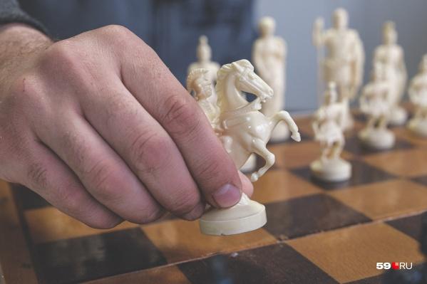 Одна из проблем, по мнению Виталия Шинкевича, — отсутствие крупных шахматных турниров в крае