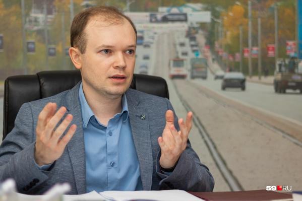 Анатолий Путин возглавил городской департамент транспорта в 2019 году