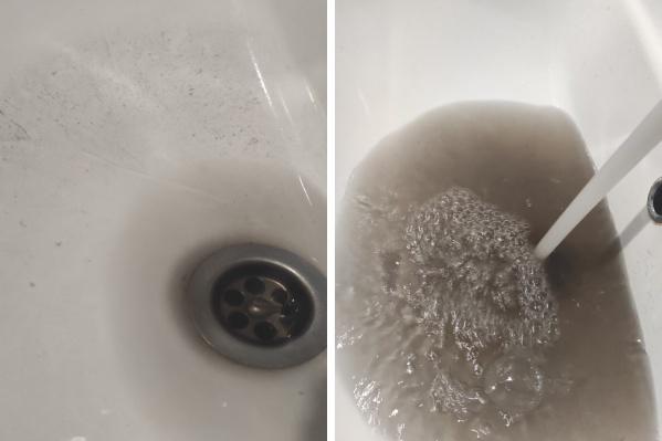 В квартирах Папанина вода еще и почернела