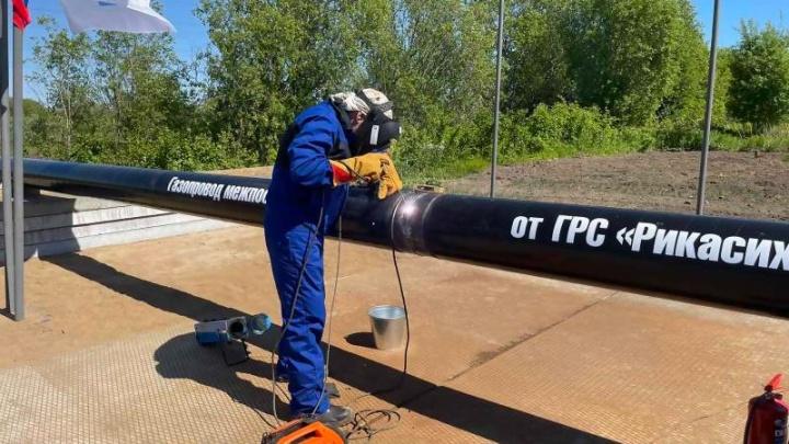 В Архангельске начали строить газопровод от Рикасихи до Исакогорки