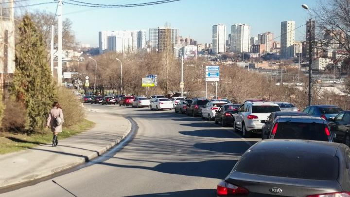 Несколько улиц в центре Ростова перекроют до лета
