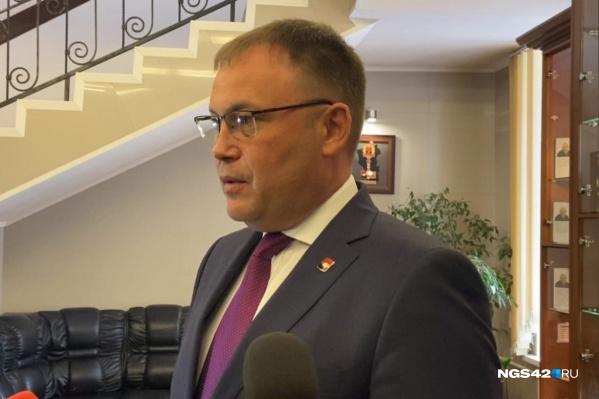 15 сентября Илья Середюк вновь вступил в должность главы города Кемерово