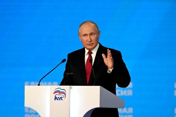 Три четверти опрошенных полагают, что президент говорил в своем выступлении честно и искренне