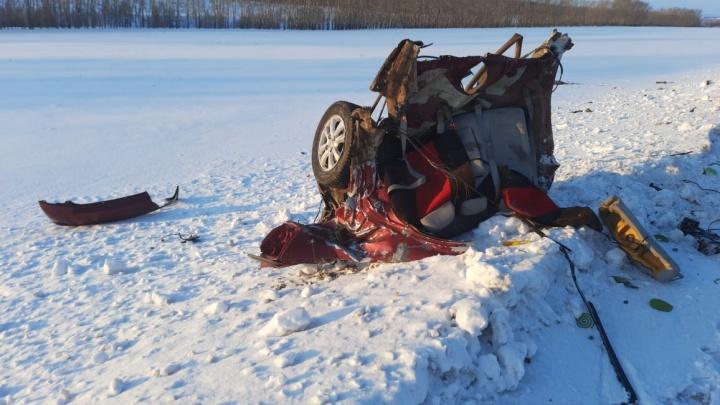 Стали известны подробности аварии в Башкирии, в которой скончалась женщина, а ее пятилетний сын попал в больницу