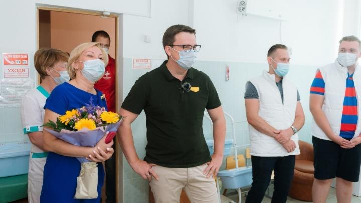 Пермские волонтеры поддержали детей, проходящих реабилитацию после перенесенного коронавируса