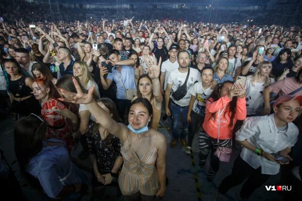 Роспотребнадзор заявил о том, что многотысячный концерт прошел без согласования с ведомством