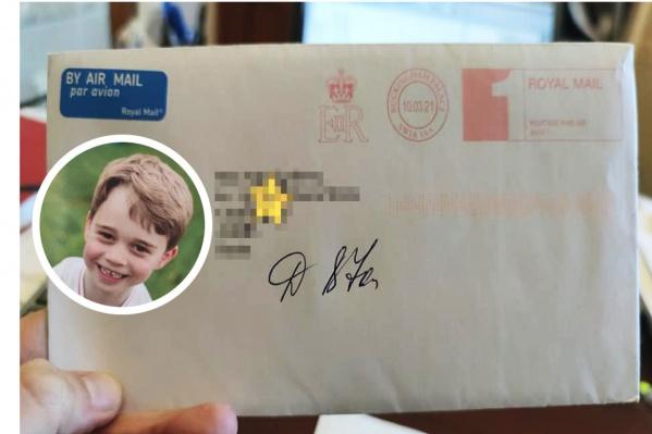 Принц Джордж отправил ответное письмо 6-летней девочке из Челябинска<br>