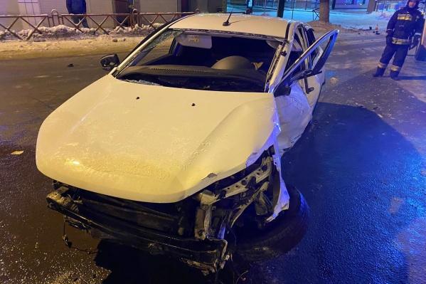 Автомобилист пытался скрыться с места происшествия