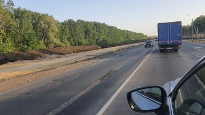 В Самарской области ограничили движение на трассе М-5