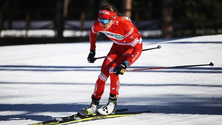 Пермская лыжница победила в марафоне на чемпионате России