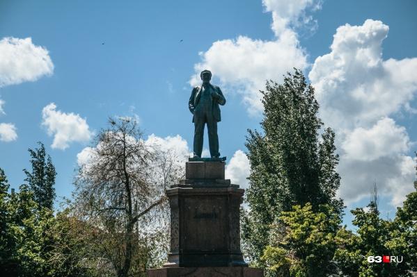 Объектом культурного наследия признали не только саму статую, но и ее постамент