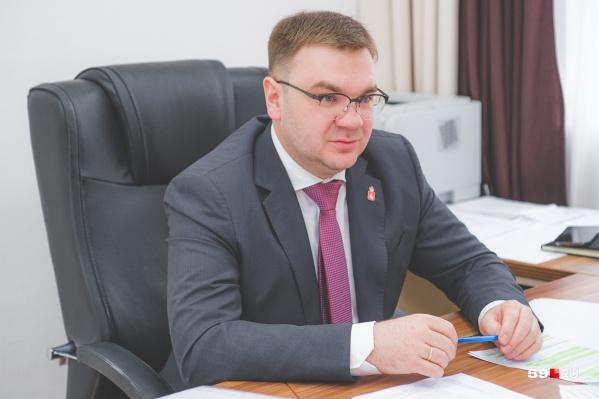 Эдуард Соснин руководит региональным министерством с прошлой осени