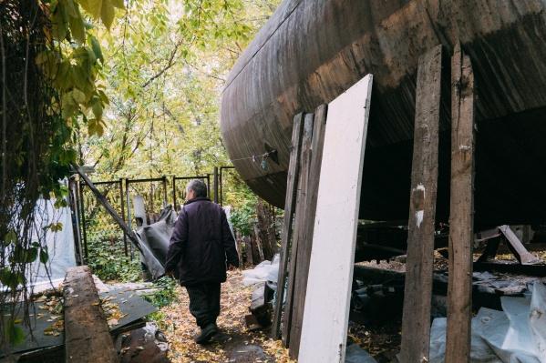 Несмотря на условия, Светлана не собирается оформляться в Нежинский геронтологический центр