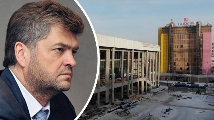 У Сонина хотят забрать подряд на строительство Дворца спорта на Молодогвардейской