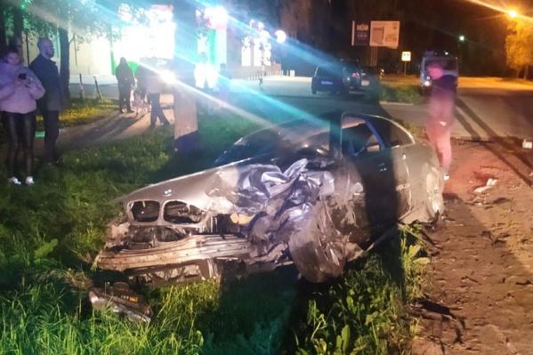 Авария случилась вечером 9 сентября