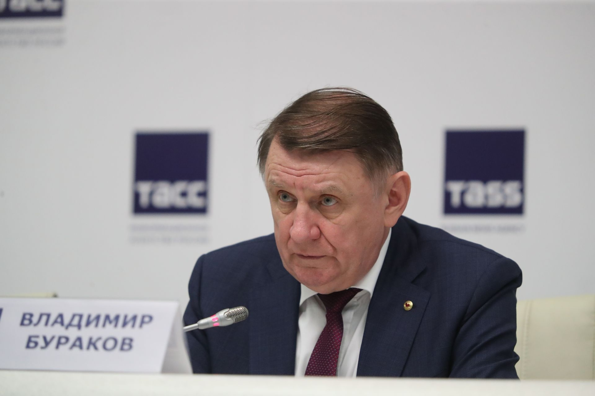 Владимир Бураков, председатель центрального совета Партии пенсионеров