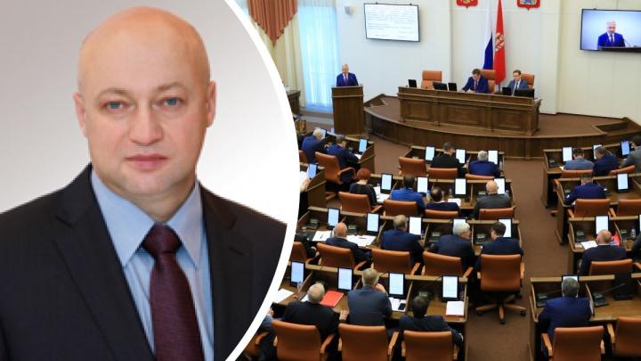 Сергей Батурин покидает пост полномочного представителя губернатора Красноярского края