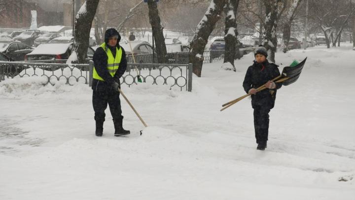 План по осадкам уже перевыполнен: главное о снежной аномалии в Екатеринбурге