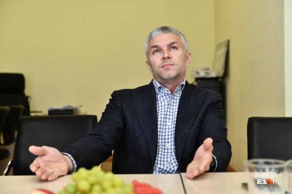 Новый вице-мэр вступил в должность в начале апреля, его предшественник Алексей Бирюлин нашел работу в правительстве Свердловской области