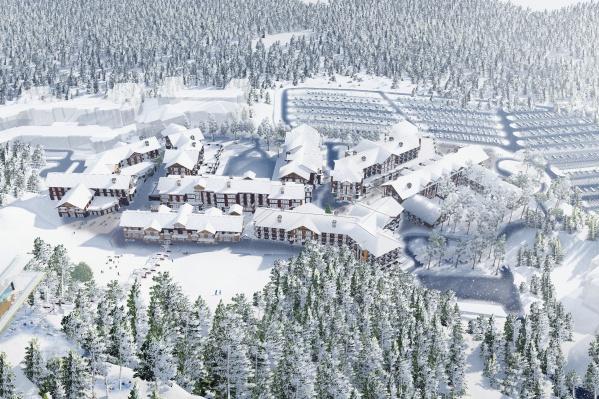 Сейчас на горе Белой построена лишь десятая часть того, что появится в скором времени