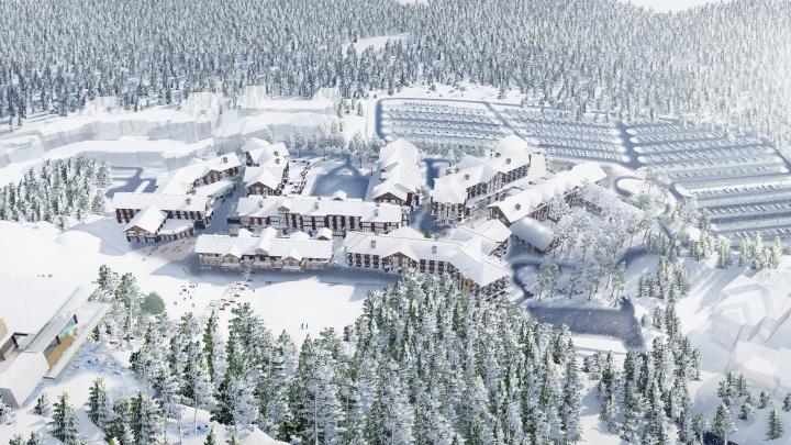 На склонах горы Белой появится более 50 километров горнолыжных трасс