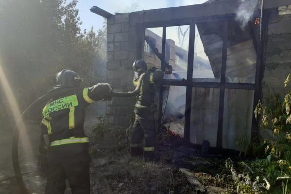Из-за поджигателей пуха и бесконечных пожаров спасателям в Челябинске сегодня буквально некогда выдохнуть