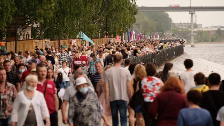 Фестиваль «Выходные на набережной» приостановили по рекомендации оперштаба