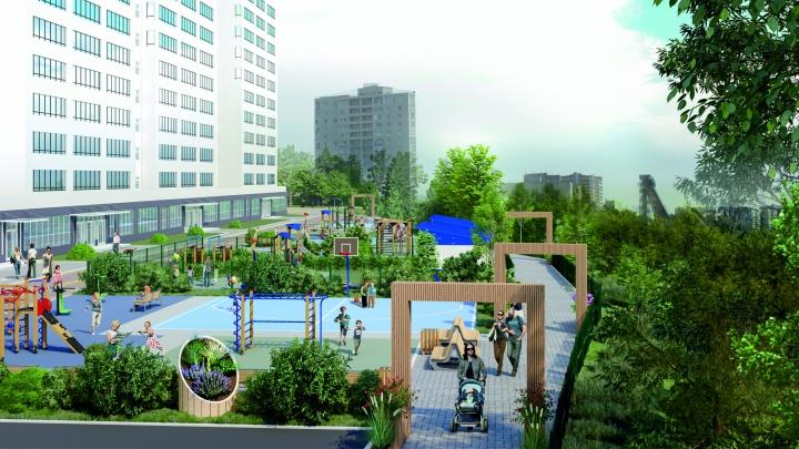 Благоустроенная территория и отличный вид на город: в группе компаний ПЗСП рассказали о ЖК «Дом на Бульваре»