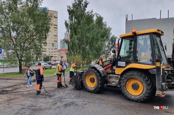 Приемку работ на проспекте Машиностроителей в Ярославле отодвинули еще на несколько дней