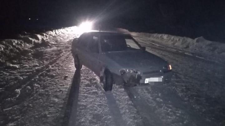 В Башкирии водитель на ВАЗ-2115 сбил 14-летнюю девочку