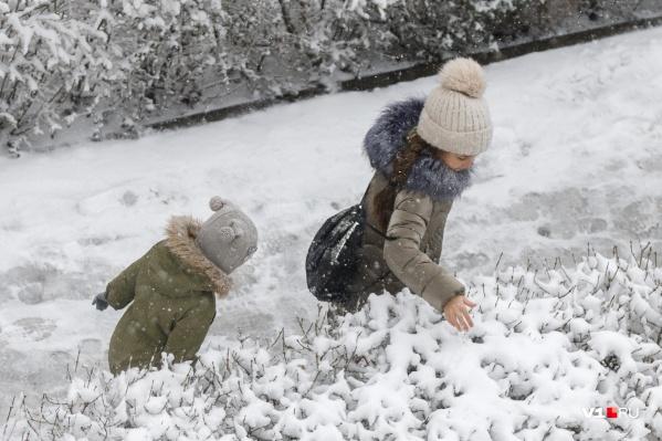 Жители Волгограда еще успеют насладиться морозными и снежными днями