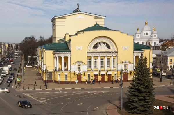 Волковский театр ждет реконструкция