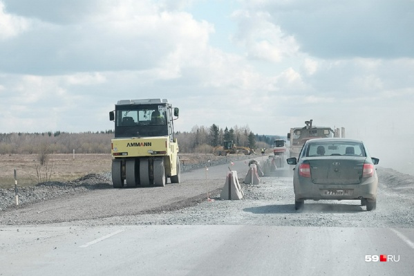 Из-за ремонта на трассах будут ограничивать движение