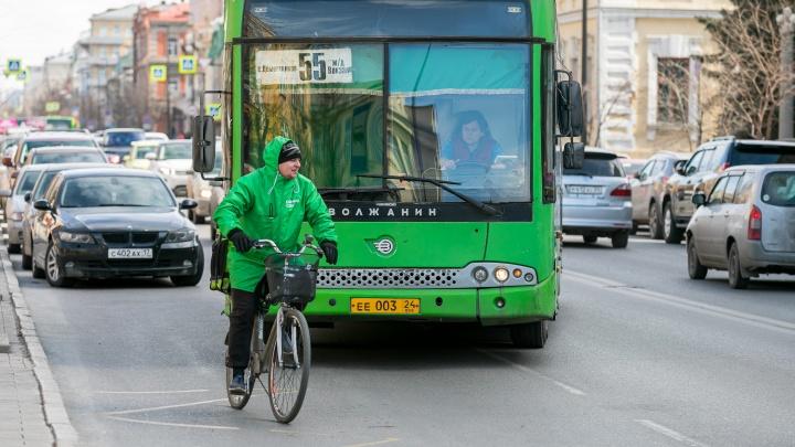 Масштабное исследование показало, где чаще всего происходят аварии с велосипедами в Красноярске