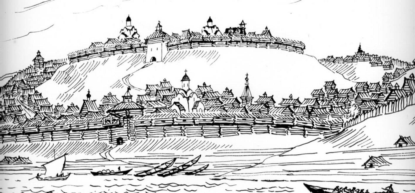 """А вот так Нижний Новгород выглядел уже к <nobr class=""""_"""">XIV веку</nobr>"""