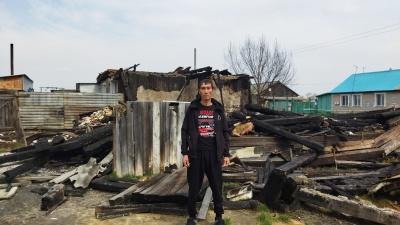 Зауралец спас двух женщин из горящего дома