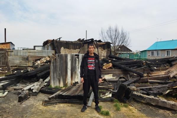 Пожар в жилом доме произошел 2 мая